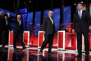 Rick Perry and Newt Gingrich Photos Photo