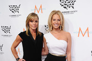 "Michelle Seelinger (L) and TV personality Dina Manzo attend ""To the Rescue! New York"" 60th Anniversary Gala at Cipriani 42nd Street on November 21, 2014 in New York City."