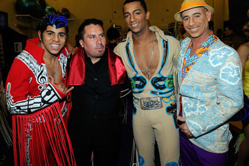 Miguel Perez Rescued Chilean Miner Edison Pena Appears At 'Viva ELVIS' By Cirque Du Soleil