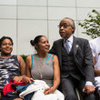 Rev. Al Sharpton Rev. Al Sharpton and Family of Police Chokehold Death Victim Eric Garner Brief the Media After Meeting With DOJ Officials