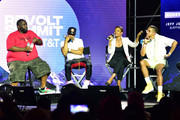 Killer Mike, T.I., Candace Owens, and Steven Pargett speak onstage during day 3 of REVOLT Summit x AT&T Summit on September 14, 2019 in Atlanta, Georgia.