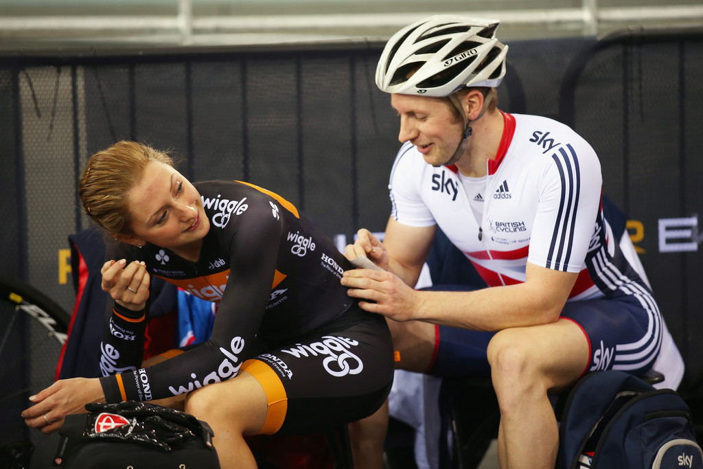 Jason Kenny And Laura Trott Photos Photos