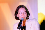 Actor Brigette Lundy-Paine speaks onstage at the closing night gala and Visibility Awards during Revry's 4th Annual QueerX Festival at The London West Hollywood on June 02, 2019 in West Hollywood, California.