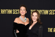 """Blake Lively and Barbara Broccoli attend the screening of """"The Rhythm Section"""" at Brooklyn Academy of Music on January 27, 2020 in New York City."""
