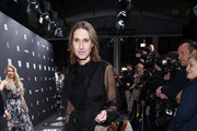 Annette Weber attends the Riani show during the Berlin Fashion Week Autumn/Winter 2019 at ewerk on January 16, 2019 in Berlin, Germany.