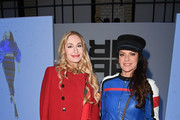 Elna-Margret Princess von Bentheim zu Steinfurt and Christine Neubauer attend the Riani show during the MBFW Berlin January 2018 at ewerk on January 16, 2018 in Berlin, Germany.