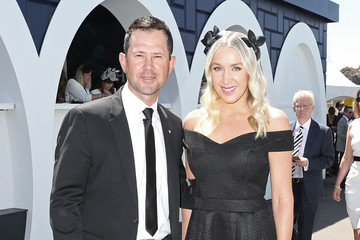 Rianna Ponting Celebrities Attend Derby Day