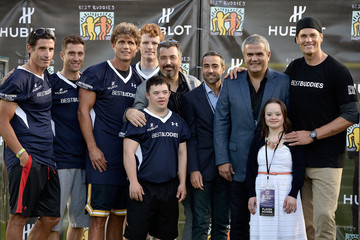 Ricardo Guadalupe Rick Delacroix Tom Brady Football Challenge For the Best Buddies Challenge