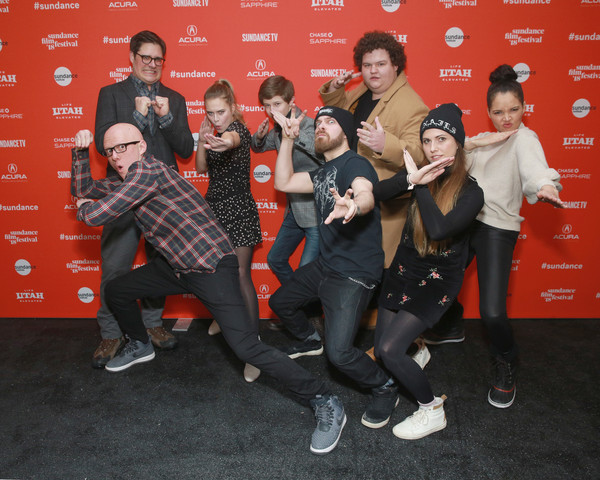 2018 Sundance Film Festival - 'Summer if '84' Premiere [social group,event,actors,directors,rich sommer,anouk whissell,yoann-karl whissell,summer of 84,l-r,park city library,sundance film festival,premiere]
