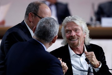 Richard Branson One Planet Summit in Paris