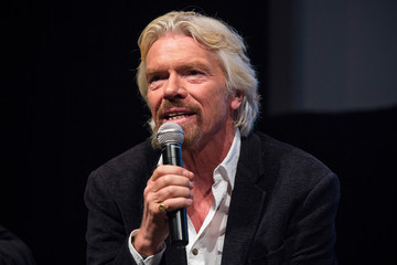 Richard Branson Former Int'l Presidents And Richard Branson Introduce Report On Successful Drug Policies