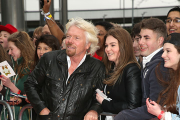 Richard Branson Arrivals at We Day UK