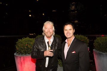 Richard Branson The Virgin Hotel Grand Opening In Chicago - Grand Opening Party