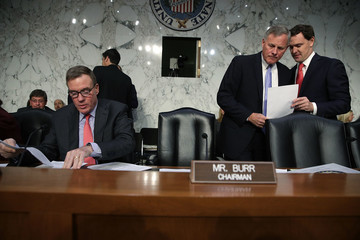Richard Burr Facebook, Google and Twitter Executives Testify to Senate Select Intel Committee on Preventing Foreign Interference in Elections