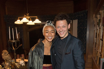 Richard Coyle Tati Gabrielle Netflix Original Series 'Chilling Adventures Of Sabrina' Special Preview Of The Spellman House
