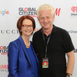 Richard Curtis 2015 Global Citizen Festival in Central Park to End Extreme Poverty by 2030 - VIP Lounge