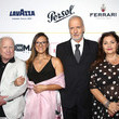 "Richard Dreyfuss Lina Wertmuller ""True Italian Taste"" Gala Reception Dinner Co-Hosted By The Italy-America Chamber Of Commerce West And Italian Soccer Superstar Alessandro Del Piero At Del Piero's Los Angeles Restaurant N.10"