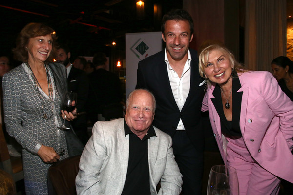 "Lina Wertmuller ""True Italian Taste"" Gala Reception Dinner Co-Hosted By The Italy-America Chamber Of Commerce West And Italian Soccer Superstar Alessandro Del Piero At Del Piero's Los Angeles Restaurant N.10"