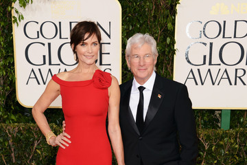 Richard Gere Carey Lowell 70th Annual Golden Globe Awards - Arrivals