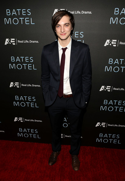 "Harmon Actor Richard Harmon attends A&E's ""Bates Motel"" Premiere"