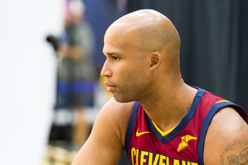 Richard Jefferson Cleveland Cavaliers Media Day