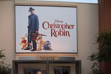 Richard M. Sherman Premiere Of Disney's 'Christopher Robin' - Red Carpet
