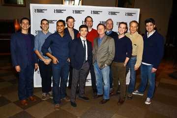 Richard Riaz Yoder 'On the Twentieth Century' Broadway Cast Photo Call