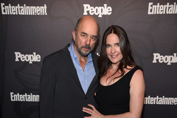 Richard Schiff Sheila Kelley Entertainment Weekly & People New York Upfronts Party 2018 - Arrivals