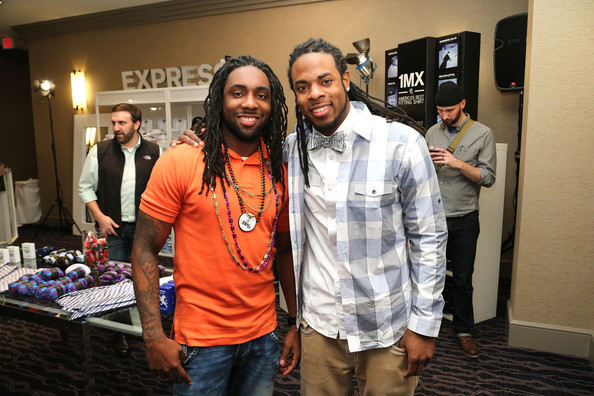 Photo of Richard Sherman & his  Brother  Branton Sherman