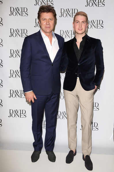 Arrivals at the David Jones Collection Launch