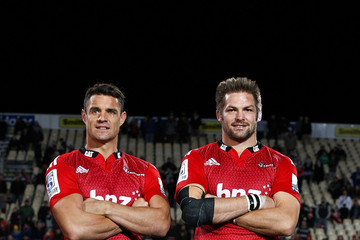 Richie Mccaw Super Rugby Rd 13 - Crusaders v Reds