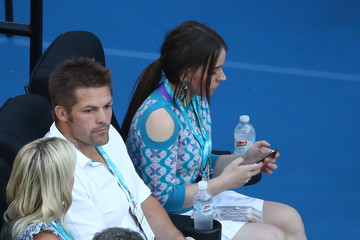 Richie Mccaw 2017 Australian Open - Day 13