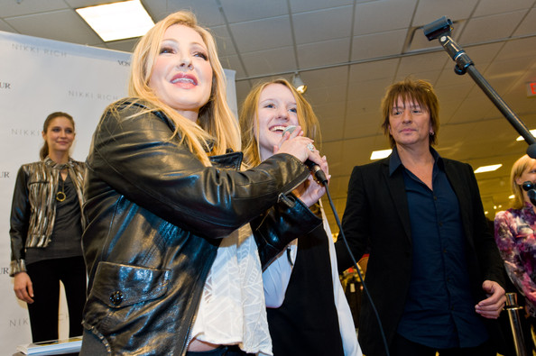 Richie Sambora and Emily Muller - Nikki Rich Launch With Co-Designers ...