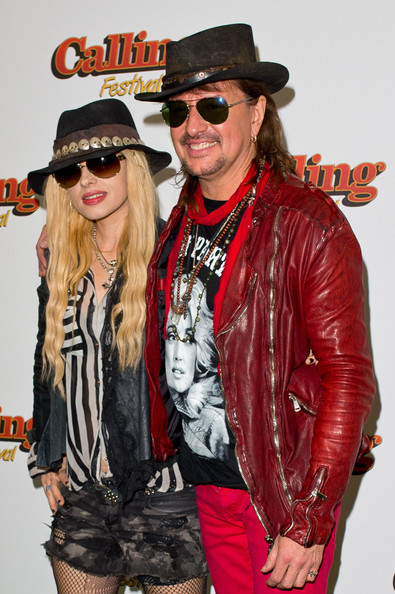 Richie Sambora and girlfriend Orianthi walk hand-in-hand at ...