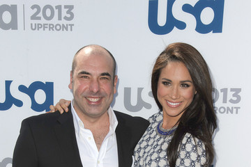 Rick Hoffman Celebs at the USA Upfront Event in NYC