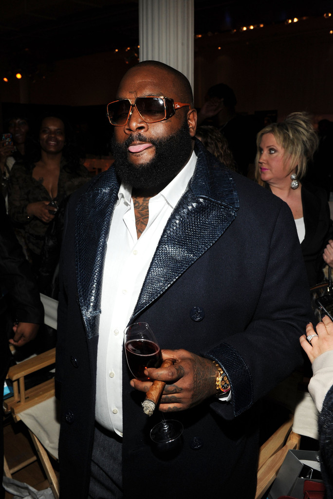 Rick Ross - FrontRow By Shateria Moragne-El - Front Row - Fall 2013 Style360