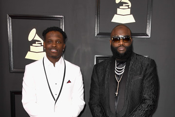 Rick Ross The 59th GRAMMY Awards - Arrivals