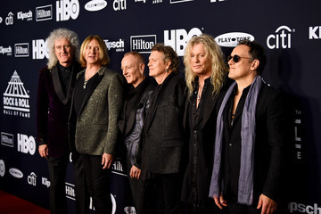 Rick Savage 2019 Rock & Roll Hall Of Fame Induction Ceremony - Arrivals