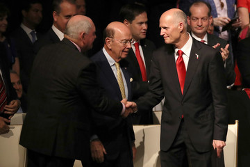 Rick Scott President Trump Delivers Remarks on U.S.-Cuba Relations in Miami