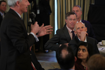 Rick Scott President Trump Holds White House Business Session With U.S. Governors