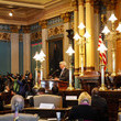 Rick Snyder Electoral College Voters Cast Ballots Amid Protests