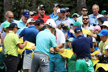 Rickie Fowler Jordan Spieth The Masters - Preview Day 3