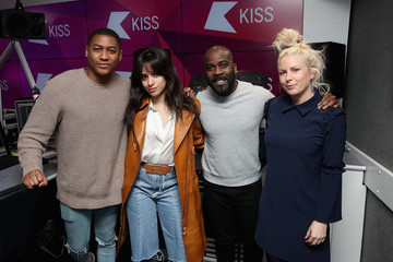 Rickie Haywood Williams Camilla Cabello Visits KISS FM