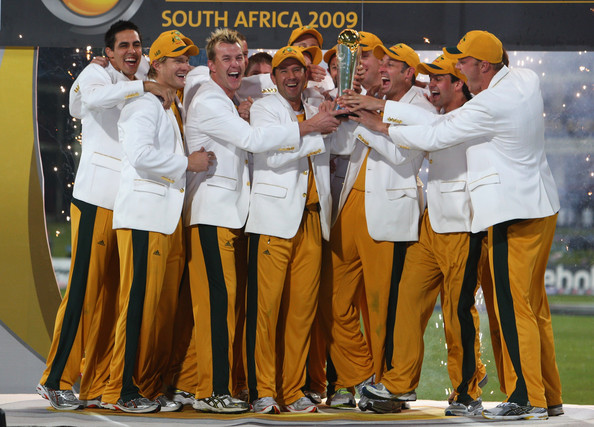 Ricky Ponting led Australia to win ICC Champions Trophy win under 2009