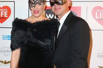 Ricky Ponting Rianna Ponting Arrivals at the Celebrate Life Ball