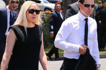 Ricky Ponting Rianna Ponting Funeral Held fo rPhillip Hughes