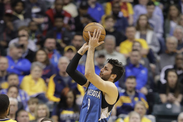 Ricky Rubio Minnesota Timberwolves v Indiana Pacers