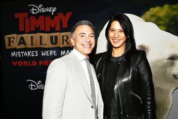 """Ricky Strauss Agnes Chu Premiere Of Disney +'s """"Timmy Failure: Mistakes Were Made"""" - Red Carpet"""