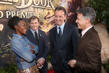 Ricky Strauss Sean Bailey The World Premiere of Disney's 'The Jungle Book'