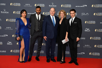 Ricky Whittle Opening Ceremony - 59th Monte Carlo TV Festival